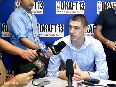 2013 NBA Draft Media Day Interviews, Part One