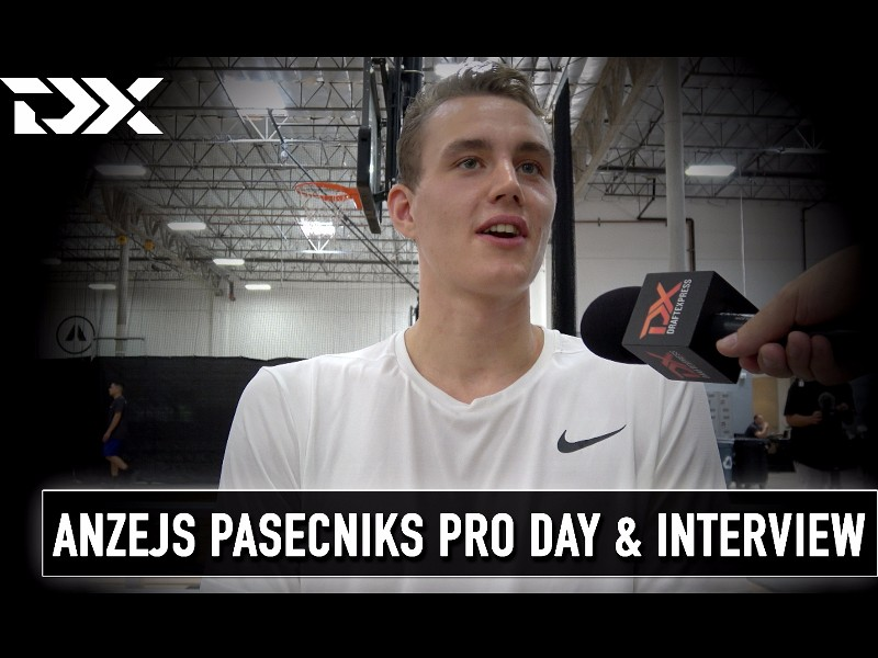Anzejs Pasecniks Pro Day Workout and Interview
