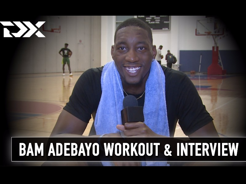Bam Adebayo NBA Pre-Draft Workout and Interview
