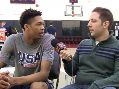 2015 Nike Hoop Summit Video Interview: Brandon Ingram