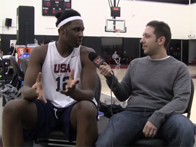 2015 Nike Hoop Summit Video Interview: Caleb Swanigan