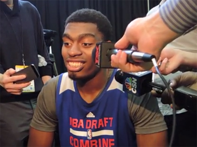 Dakari Johnson Interview