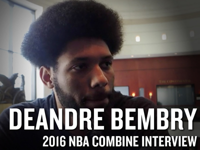 DeAndre Bembry 2016 NBA Draft Combine Interview