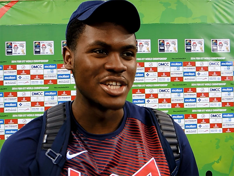 2014 U17 World Championship Interview: Diamond Stone