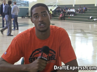 Fab Melo Workout Interview