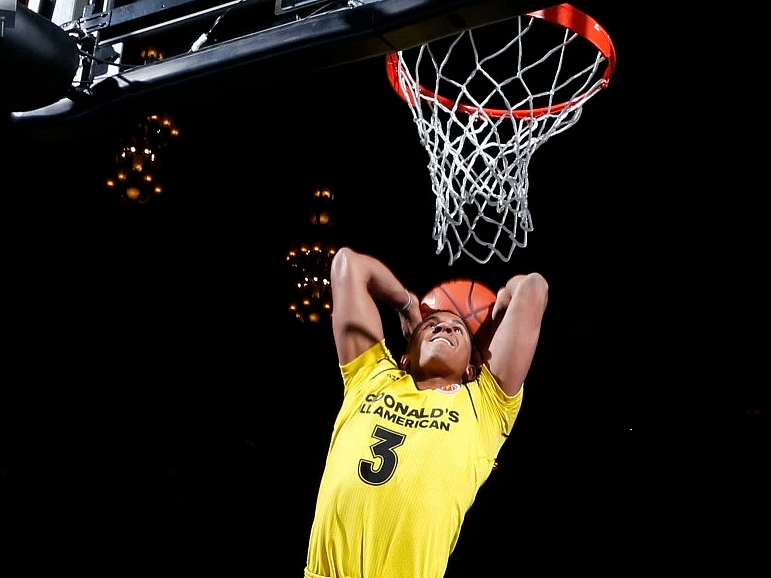 2016 McDonald's All-American Dunk Contest Compilation