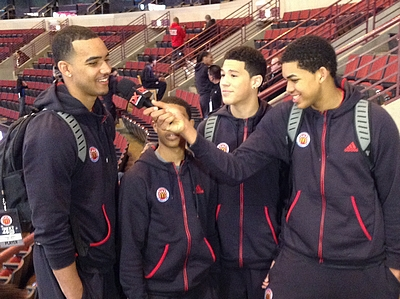 Kentucky's 2014 Recruiting Class at the McDonald's All-American Game