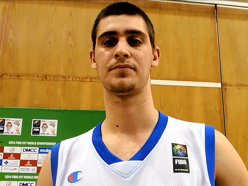 2014 FIBA U17 World Championship Interview: Georgios Papagiannis
