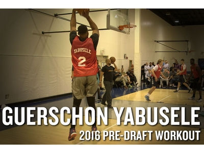 Guerschon Yabusele NBA Pro Day Workout and Interview Transcript