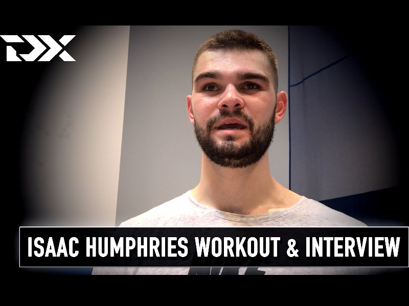 Isaac Humphries Pro Day Workout Video and Interview
