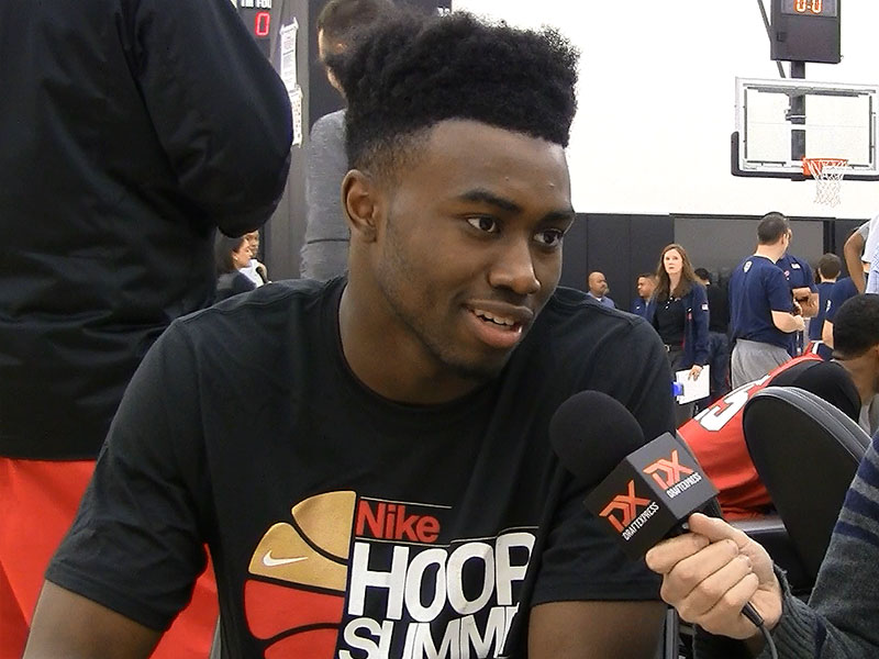 2015 Nike Hoop Summit Video Interview: Jaylen Brown
