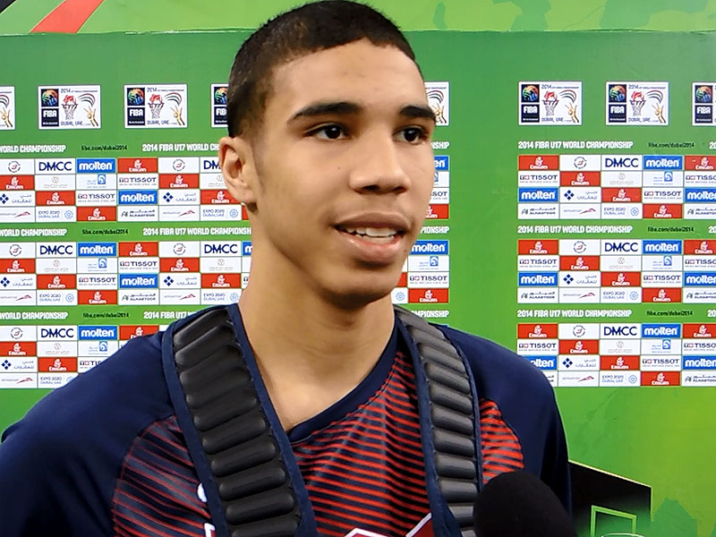 2014 U17 World Championship Interview: Jayson Tatum