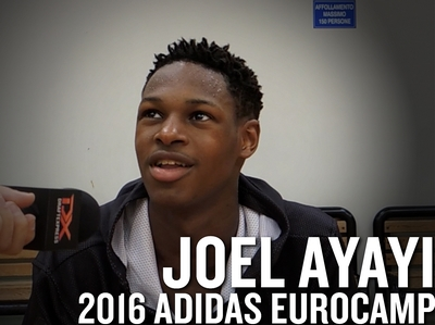 Joel Ayayi 2016 Adidas Eurocamp Interview and Highlights