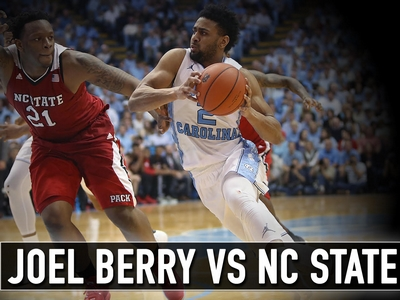 Joel Berry vs N.C. State - Matchup Video