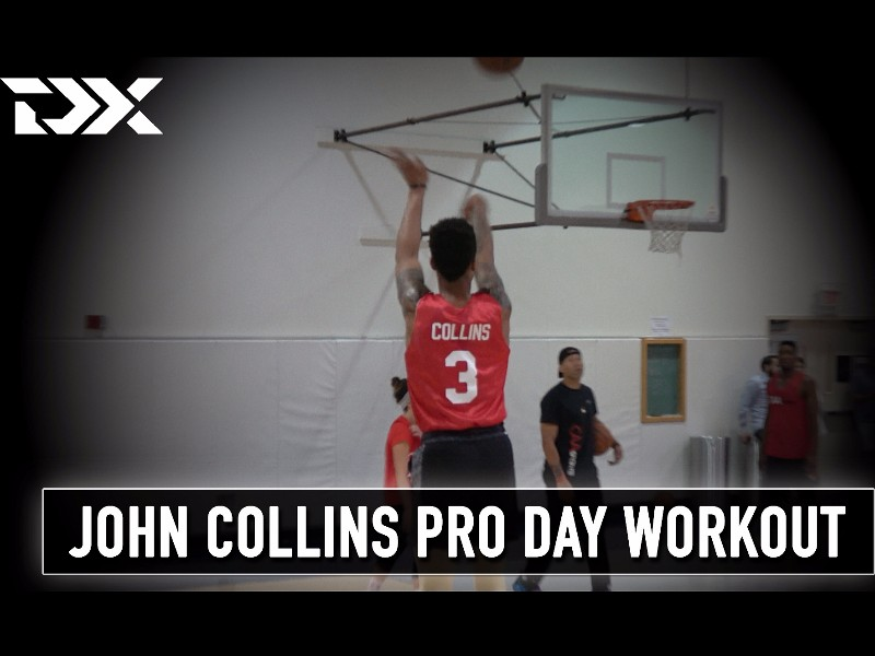 John Collins CAA Sports Pro Day Workout