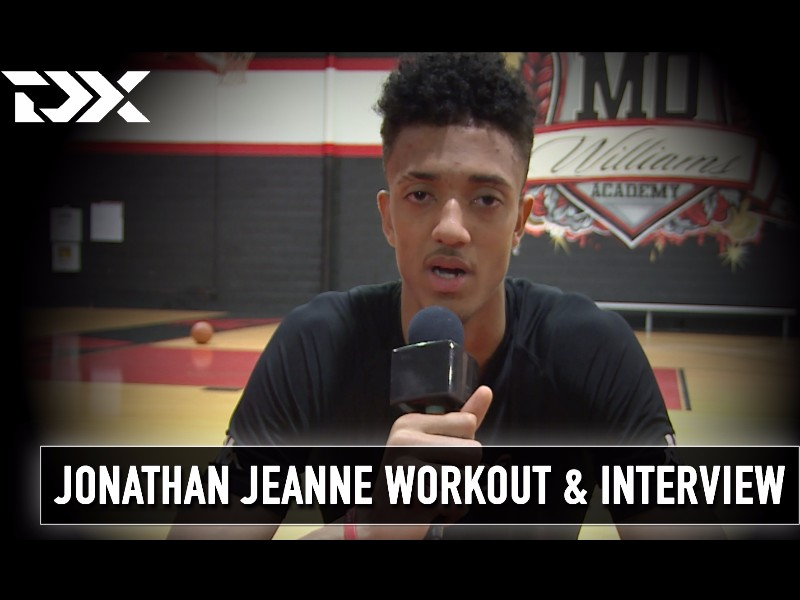 Jonathan Jeanne NBA Pre-Draft Workout and Interview