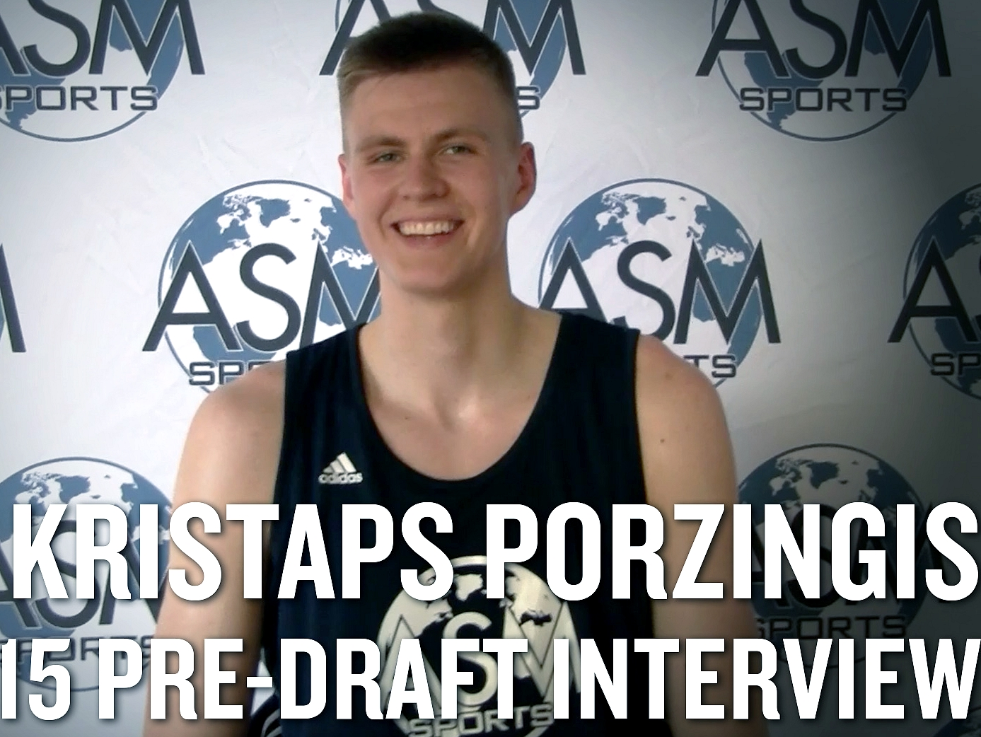 Kristaps Porzingis Interview from Las Vegas