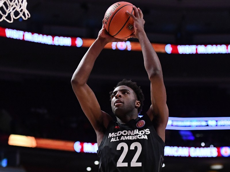 Mitchell Robinson McDonald's All-American Interview and Highlights