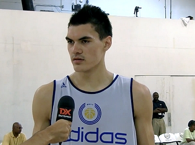 adidas Nations Highlights and Interview: Steven Adams