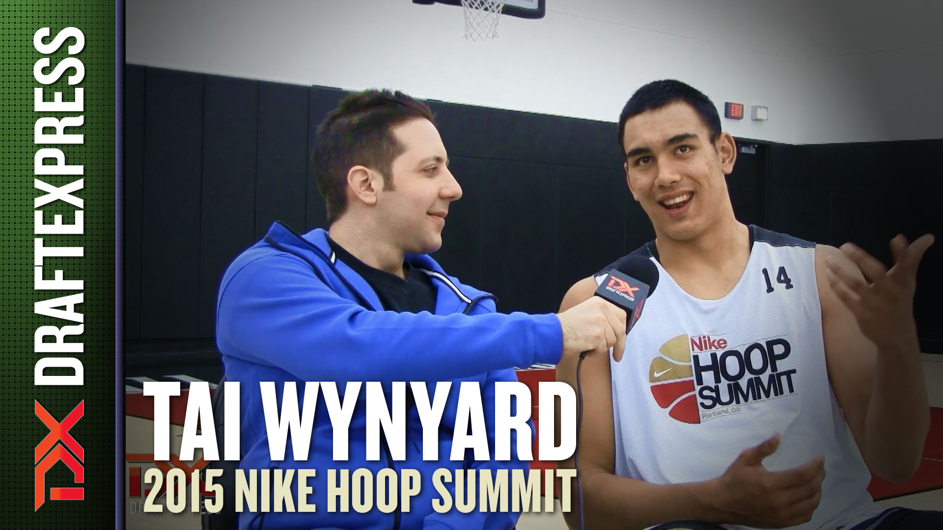 2015 Nike Hoop Summit Video Interview: Tai Wynyard