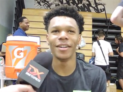Trevon Duval Under Armour Elite 24 Interview