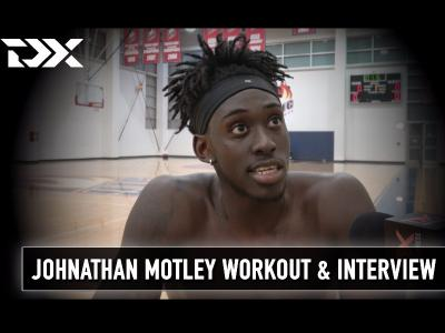 Johnathan Motley NBA Pre-Draft Workout and Interview