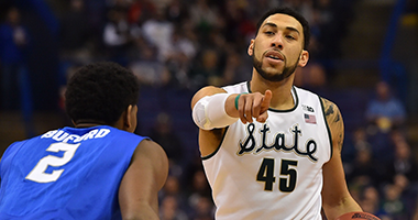Denzel Valentine nba mock draft