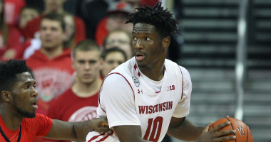 Nigel Hayes nba mock draft